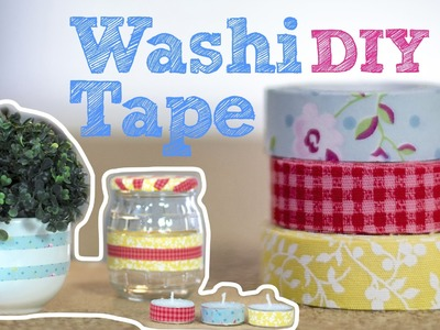 DIY :: Fita adesiva decorada | Washi Tape