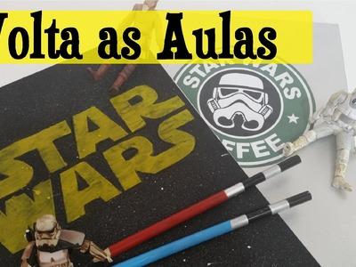 DIY GEEK - Volta as Aulas STAR WARS   Maísa Flora