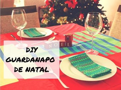 DIY | GUARDANAPO DE PANO PARA NATAL