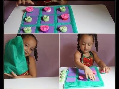 DIY:Jogo da velha com tampinha de garrafa (Especial Dia das Crianças)