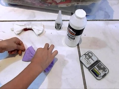 DIY : Lacinhos para cabelo   Mah Costa