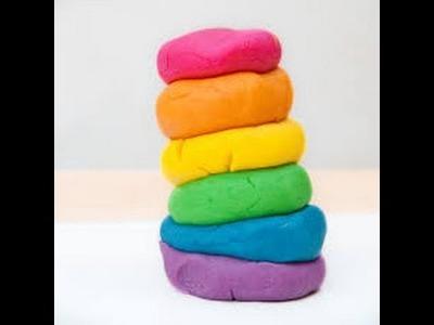 DIY.Massinha de Giz de Cera☀️Atividade para Criança☀️Play Dough Crayon Play - Elenice Carneiro