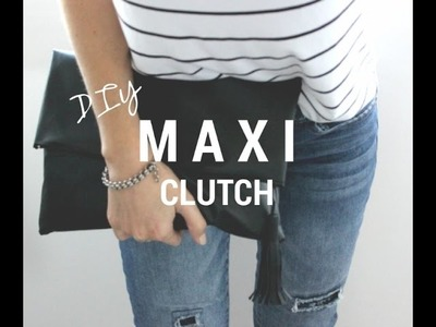 DIY | Maxi Clutch com tassel