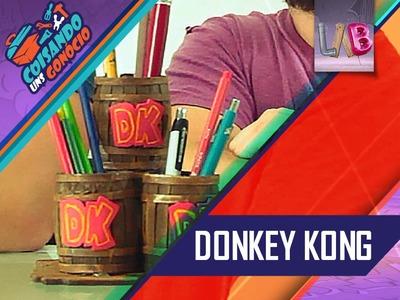 DIY: Porta Canetas - Barril Donkey Kong - CUG#02