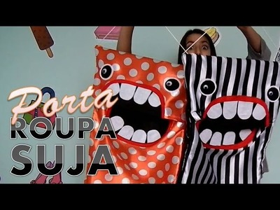 DIY: PORTA ROUPAS SUJAS