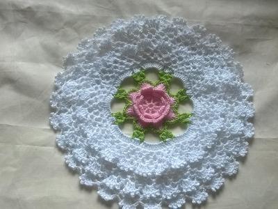 DIY toalhinha de babadinho em croche
