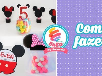 Festa Simples Mickey e Minnie - 3 Diy Mickey