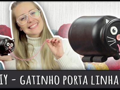 Gatinho Porta Linha =DiY