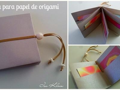 Pasta para papel de origami