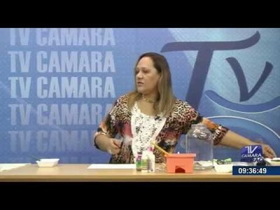 Programa Artesanato sem Segredo (25.05.15) - Scrap Decor em Vidro