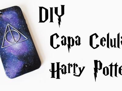 DIY: Capa de Celular Personalizada Relíquias da Morte - Harry Potter