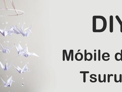 DIY: Como Fazer Móbile de Tsurus (Origami Tutorial)