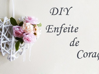 DIY: Enfeite de Coração - Artesanato com Jornal (Decoração Noivado, Dia Namorados e Casamento)