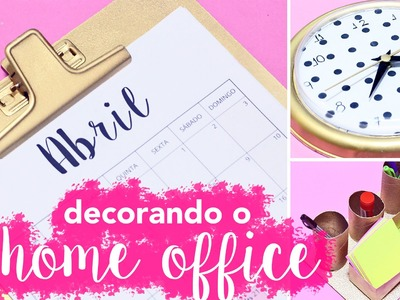 DIY :: Organizando o Home Office