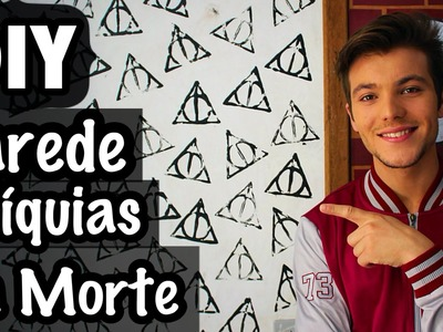 DIY - Parede Relíquias da Morte △⃒⃘   Harry Potter - Eduardo Wizard