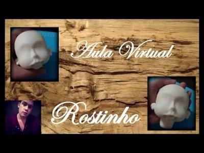 DIY Rostinho Boneca