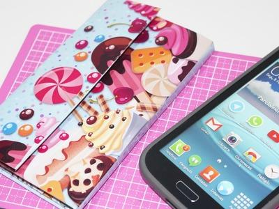Capinha de Celular com Caixa de Leite Personalizada - DIY - Segredos de Aline