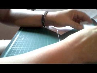 Como fazer etiquetas com fitas de cetim