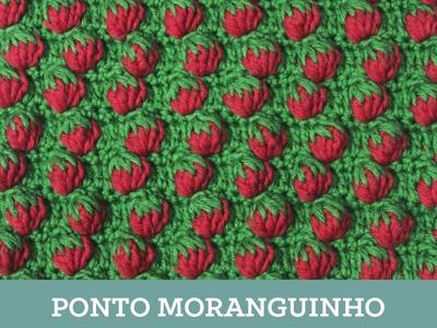 Criações em Crochê: Ponto Moranguinho | Luciana Ponzo