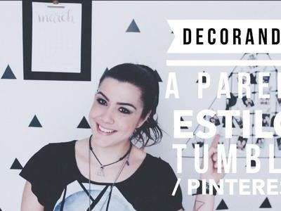 DIY: DECORAÇÃO ESTILO TUMBLR.PINTEREST GASTANDO POUCO