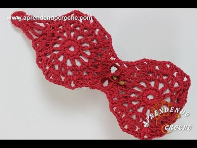 Jogo de Banheiro em Crochê Vapt Vupt - Porta Papel Higiênico