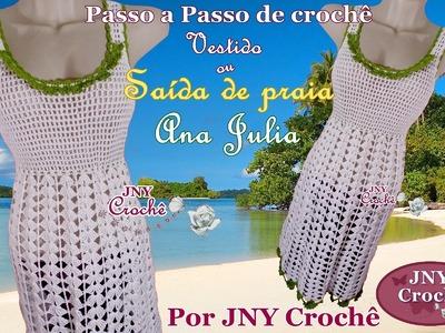 PAP Saida de praia de croche Ana Julia por JNY Crochê