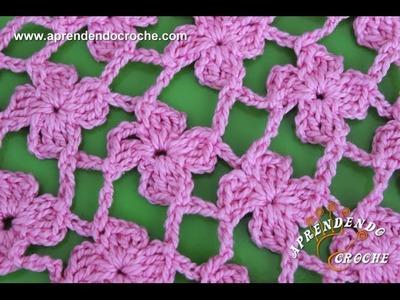 Ponto de Crochê Fantasia - 11 - Aprendendo Croche
