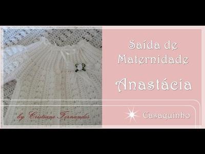 SAÍDA DE MATERNIDADE ANASTÁCIA - 2.4 - Casaquinho