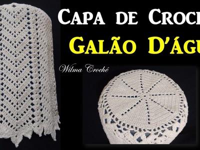 Capa de Crochê Para Galão D'água - Wilma Crochê