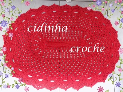 Croche -Tapete Modelo Russo- Parte 2 - Final