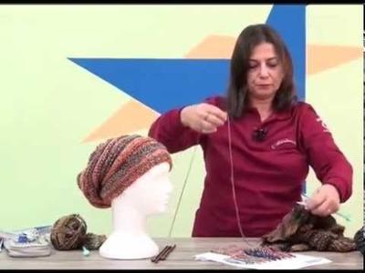 Gorro Igor em trico com Cisne Mona