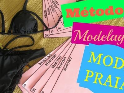 Modelagem de Strappy Biquíni + Método de Modelagem para Moda Praia