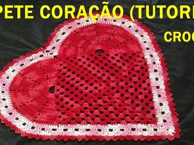 Tapete Crochê Coração #LuizadeLugh  (English subtitles)
