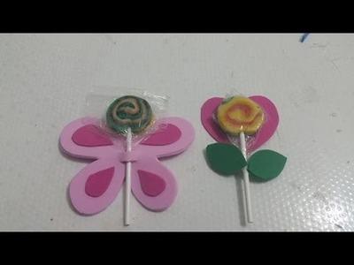 Como fazer lembrancinha para o dia das crianças em eva, DIY artesanato em eva
