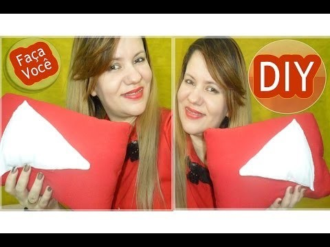 ✄ DIY | Como Fazer Almofada Play do YouTube