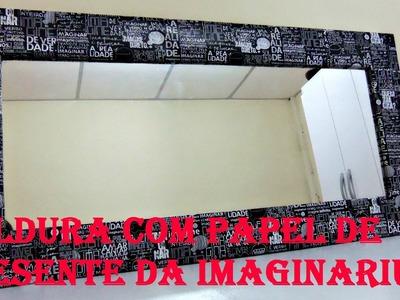 DIY: Espelho personalizado- Luíza Rebouças