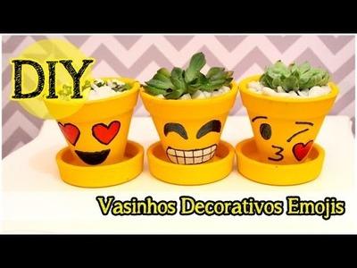 DIY: Vasinho Decorativo Emojis
