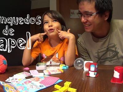 2Carneiros fazem Brinquedos de Papel