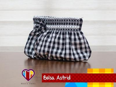 Bolsa de tecido Astrid - Maria Adna Ateliê - Cursos e aulas de bolsas em tecido