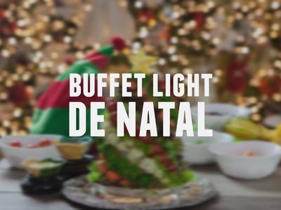 Buffet light de natal | Receitas Saudáveis - Lucilia Diniz