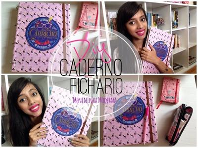 Caderno Fichario DIY | Faça você mesma