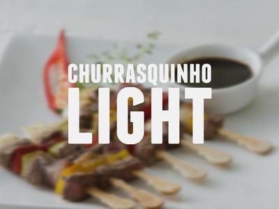 Churrasquinho Light | Dicas de Bem-Estar - Lucilia Diniz