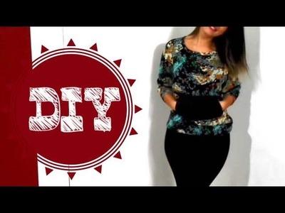 DIY | Customização de Blusa ou Moletom | Aplicando Bolso