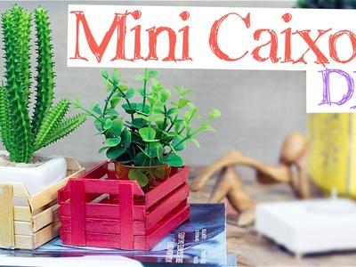 DIY - Mini Caixote de feira