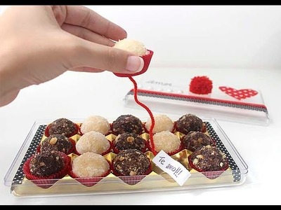 DIY PÁSCOA: Reaproveitando a caixa de Ferrero Rocher com brigadeiros surpresa!
