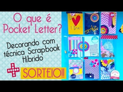 O que é Pocket letter? como decorar? o que enviar? - Scrapbook by Tamy