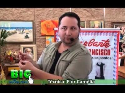 PARTE 01 - BIG ARTS - CURSO COM MARCELO NUNES - TÉCNICA FLOR CAMÉLIA