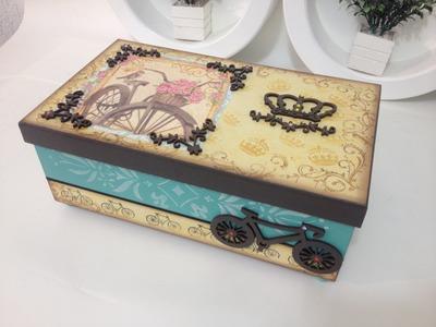 Video-Aula: Caixa Bike Vida Plena | Livia Fiorelli | LifeArtesanato