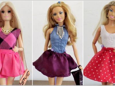 #6 Como Fazer Saia Rodada para Barbie e Outras Bonecas
