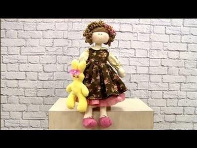 Boneca Bruna com Vivi Prado